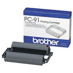 Brother PC-91 Ribbon Fax Cartridge - Rodillo de transferencia para...