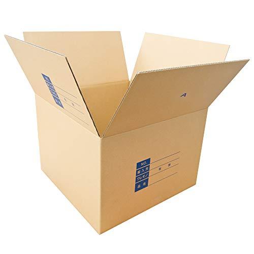 ダンボールキング ダンボール 引っ越し 段ボール箱 140サイズ(外寸48×48×高さ34cm) 梱包材 丈夫 清潔(備考欄印字 10枚)