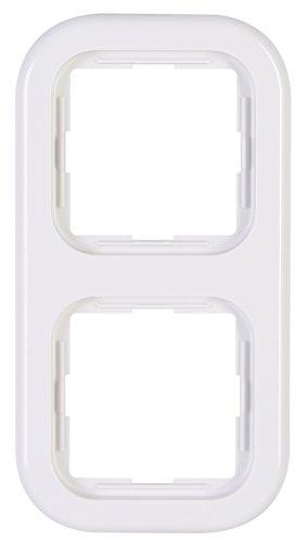 Kopp 303702005 2-fach Rahmen Donau arktis-weiß