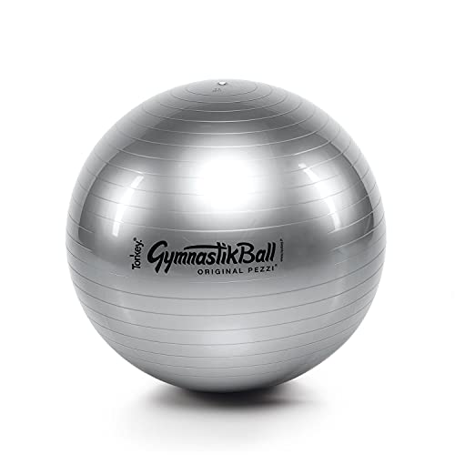 Pezzi Gymnastik Ball Standard 65 cm Therapie Sitzball Fitness Anthra