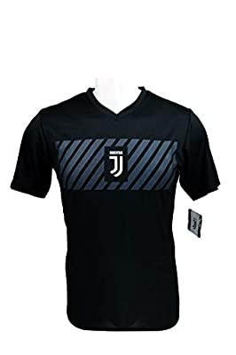 Icon Sports Group Juventus F.C. Official Adult Soccer Poly Shirt Jersey -03 XL
