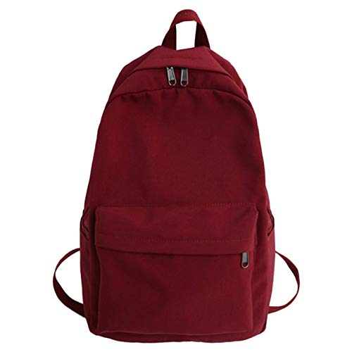 Andifany Women'S Waterproof Backpack Ladies Shoulder Bag Fashion School Bag Girls Children Backpack Travel School Bag Red