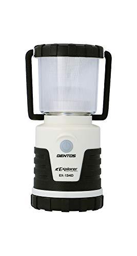 GENTOS(ジェントス) LED ランタン 【明るさ210ルーメン/実用点灯12時間/耐塵/防滴】 単3形電池4本使用 EX-134D ANSI規格準拠 停電時用 明かり 防災