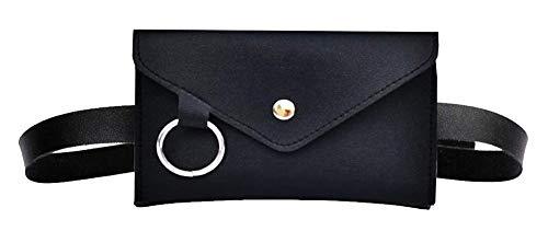 Heuptas vrouw - riem plus portemonnee - elegant - deelbaar - afneembaar - vrouw - meisje - origineel cadeau-idee - mode - praktisch - zwart