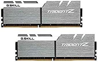 G.SKILL 32GB (2 x 16GB) TridentZ Series DDR4 PC4-25600 3200MHz for Intel Z170 Platform Desktop Memory Model F4-3200C16D-32GTZSW