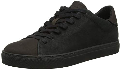 Crime London Herren Beat Sneaker, Schwarz (Black 20), 42 EU