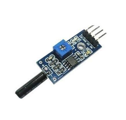 Sensor Módulo de Alarma del módulo del Sensor Normalmente Abierto Choque del módulo del Sensor de vibración para el hogar, reactores, prensas hidráulicas, COC