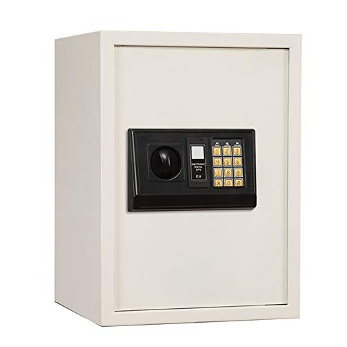 MAATCHH Caja Fuerte de Gabinete Digitales de la Seguridad electrónica Caja Fuerte Anclaje en la Pared Caja de Seguridad for la joyería Dinero en Efectivo Baterías para el Negocio en casa