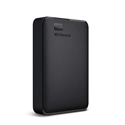 WD Elements Disque dur portable externe – USB 3.0 4TB noir