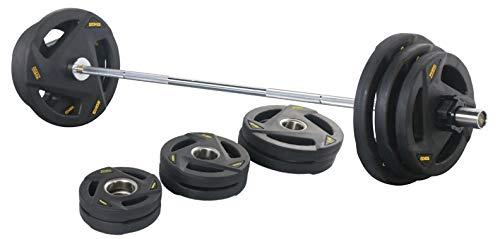 FitElite(フィットエリート) オリンピックバーベル83KGセット(183cmシャフト+プレート) (83KGセットのみ)