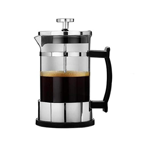 Lowest Prices! Stainless Steel French Press Pot, American Coffee Maker, Convenient Household Teapot,...