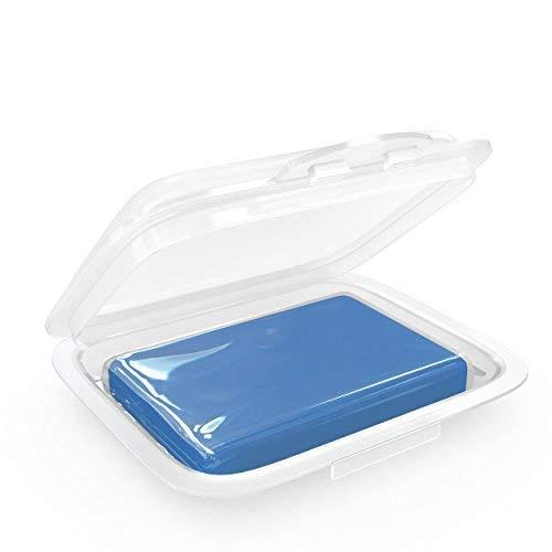 AmbiClean® Reinigungsknete für Auto, Motorrad, Wohnwagen etc. - Lack-Reiniger zur Vorbereitung von Autopolitur oder Autofolierung - Blau = Weich