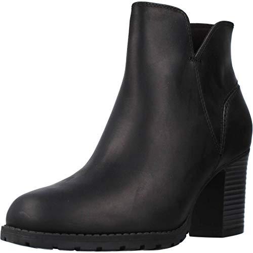 Clarks Verona Trish, Bottes & Bottines Souples Femme, Noir (Black Leather), 40 EU