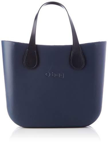 O bag mini, Borsa da donna, Blu navy, Unica