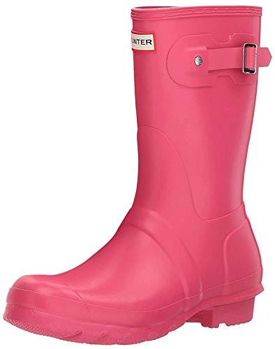 HUNTER Damen Wellington Boots Gummistiefel, Pink (Pink Rbp), 36 EU