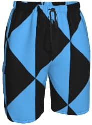 Men's Sports and Fitness Shorts, Swimming Trunks, Quick Drying Shorts, Beach Pants with Pockets