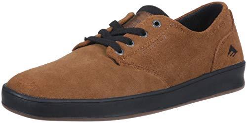Emerica Men's The Romero Laced Skate Shoe, tan/Black, 5 Medium US