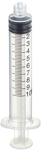 Servoprax I3 0503 Mediware Einmalspritzen, Mit Luer Lock, 10 mL Volumen (100 er-Pack)