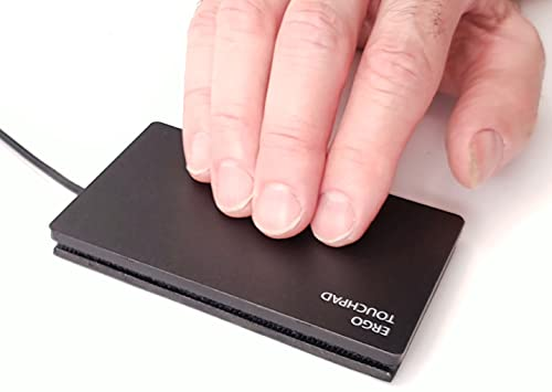 ETPA Precision Touchpad Wired USB Windows 10 ETP001PTP Most Accurate Pad for PC, 2,3,4 Finger Adjustable Programmable Gestures