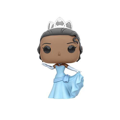 ZEwe Pop Tiana Princesse Naveen La Princesse et la Grenouille Mini Q Version 3.9inches Action PVC Figure EP PVC caractère