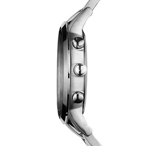 Emporio Armani Homme Chronographe Quartz Montre avec Bracelet en Acier...