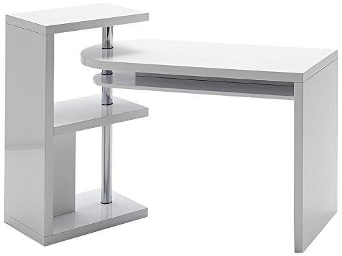 Robas Lund, Tisch, Schreibtisch, Mattis, MDF/weiß, 50 x 145 x 94 cm, 40126CW2