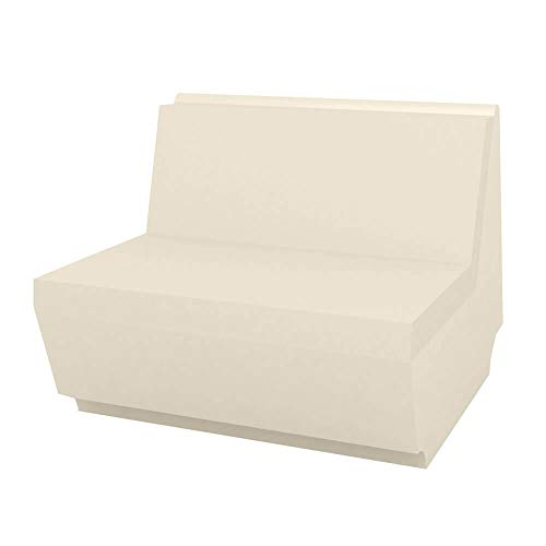 Vondom Rest módulo sofa central ecru