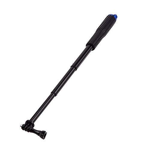 Selfie Stick Extender Monopie portátil para GoPro Hero 8/7/6/5/4 para Yi 4K Sjcam M10 Sj8 Eken H9 para DJI Osmo Camera Accesorio Montaje de cámara (Color: Color azul)
