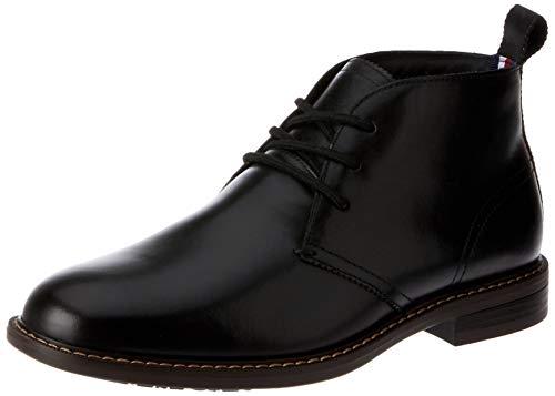 Hush Puppies Harbour Men's Casual Shoes, Black Burnish, 6 AU