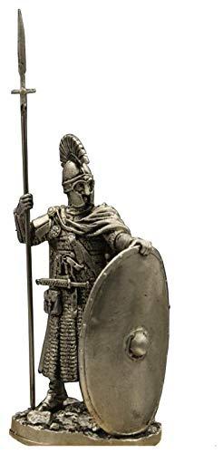 WQQLQX Statue Römische Soldaten Skulptur, Schild Soldat Griechisch Soldaten Statue Mittelalterliche Infanterie Statue Dekoration Handwerk Desktop Ornament Figuren Skulpturen