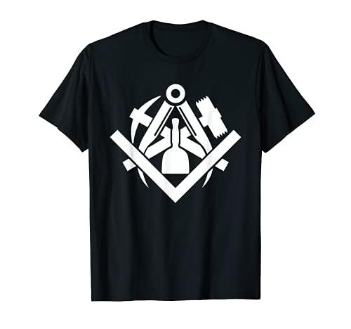 Steinmetz Zunftzeichen Steinbildhauer Steinmetze Geschenk T-Shirt