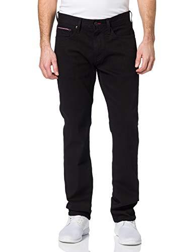 Tommy Hilfiger Herren Core Denton Straight Jeans, Blau( Detroit Schwarz ), W34/ L32