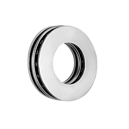 uxcell AXK1528 Thrust Needle Roller Bearings with Washers 15mm Bore 28mm OD 2mm Width