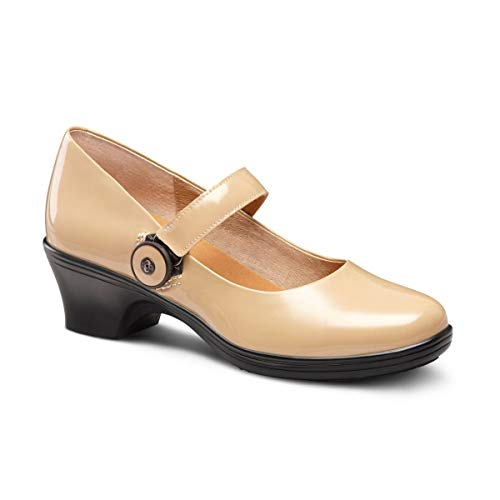 Dr. Comfort Coco Women's Therapeutic Dress Shoe: Taupe 5.5 Medium (A/B)