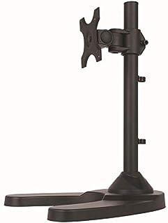 TradeMount Soporte de Mesa para Monitor con pie inclinable 90° girable 360° para LG 27