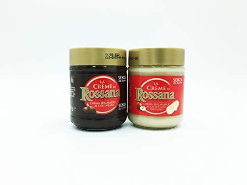 Mix Rossana crema spalmabile al cioccolato e Rossana Bianca 200Gr