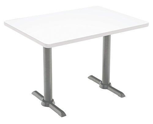 "KFI Seating Mode Multipurpose Table, 41"" H x 30"" W x 60"" D, Designer White -  KFI Studios, T3060-B2065-SL-D354-38"