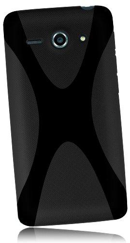 mumbi Hülle kompatibel mit Huawei Ascend Y530 Handy Hülle Handyhülle, schwarz