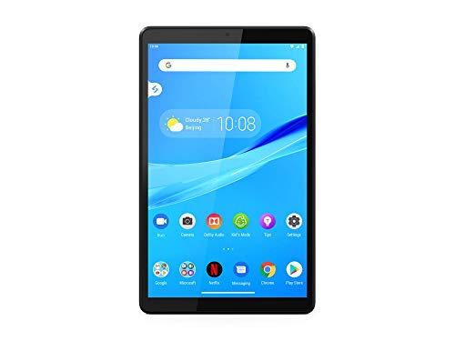 Lenovo Tab M8 Tablet, Display 8' HD, Processore MediaTek Helio A22, 32GB espandibili fino a 128GB, 2GB RAM, WiFi+LTE, Android Pie, Iron Grey