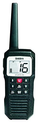 Uniden Atlantis 155 Handheld Two-Way VHF Marine Radio