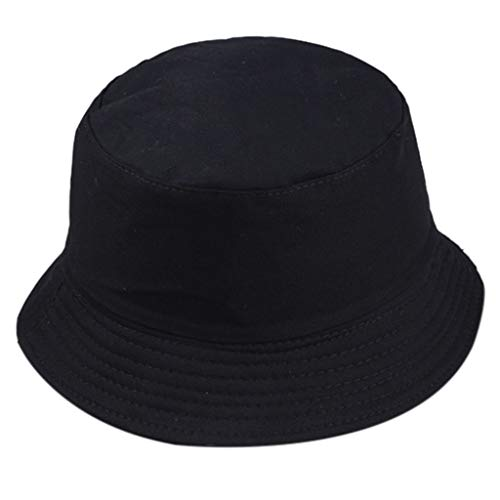 Women Men Unisex Fisherman Hat Fashion Wild Sun Protection Cap Outdoors Summer Best 2019 New Black