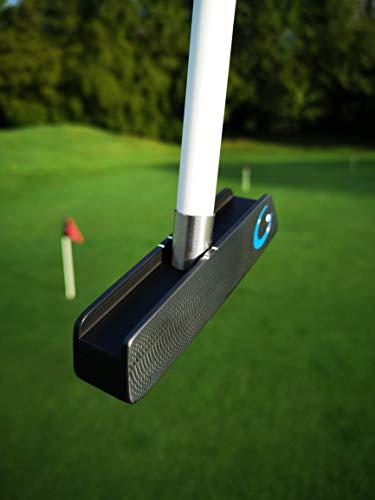 GForce Swing Trainer Putter - Votado GolfWRX Top Training Aid - Centro de Apoyo PGA 24/7 - Videos de entrenamiento gratis en YouTube - Confíado en la gira y por miles de aficionados