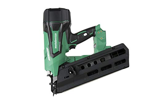 Metabo HPT 18V Cordless Framing Nailer | Tool Only - No Battery | Brushless Motor | 2-Inch up to 3-1/2-Inch Round Plastic Strip Nails | Lifetime Tool Warranty | NR1890DRSQ7