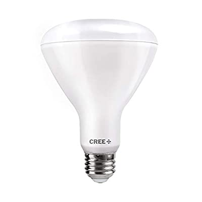 Cree TBR30-06530FLFH25-12DE26-1-12 BR30 65W Equivalent LED Light Bulb Bright White