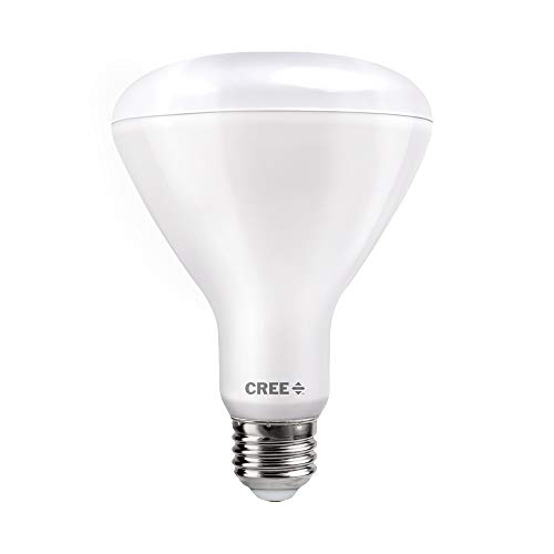 Cree Lighting TBR30-14030FLFH25-12DE26-1-11 BR30 100W Equivalent LED Light Bulb, Bright White