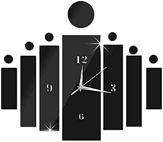 Mirror Wall Clock 3d Decorative Wall Clocks Diy Wall Watches Home Decor