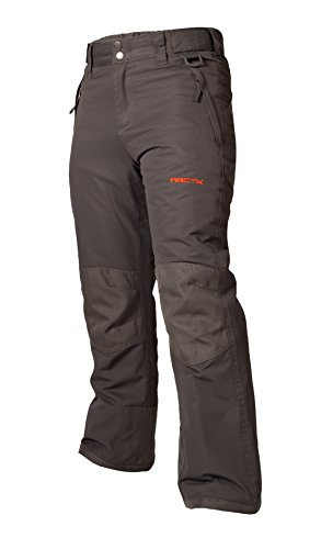 Arctix Kids Snow Pants with Reinforced Knees and Seat, Charcoal, Medium