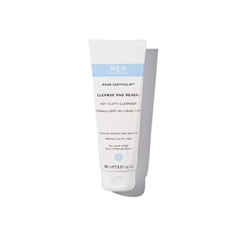 REN Skincare - Cleanse and Reveal Démaquillant au Linge Chaud 100ml