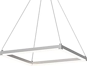 Sonneman 2786-16 19`` LED Pendant from The Stix Square Collection