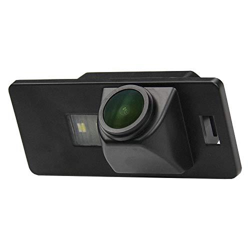 HD 1280x720p Retrocamera 170° Visione Notturna Impermeabile Telecamera posteriori retromarcia Luce Targa Fotocamera per Audi A1 A3 A4 A5 A6 RS4 TT Q5 Q7 Volkswagen Passat R36